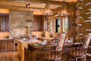 Фото 2 Дизайн кухни в деревенском доме: 70+ лучших фотоидей для уютного кантри, теплого шале или утонченного прованса