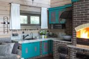 Фото 11 Дизайн кухни в деревенском доме: уютный кантри, теплый шале или утонченный прованс?
