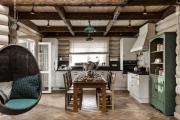 Фото 12 Дизайн кухни в деревенском доме: уютный кантри, теплый шале или утонченный прованс?