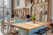 Фото 1 Дизайн кухни в деревенском доме: 70+ лучших фотоидей для уютного кантри, теплого шале или утонченного прованса