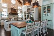 Фото 18 Дизайн кухни в деревенском доме: уютный кантри, теплый шале или утонченный прованс?