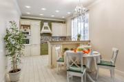 Фото 28 Дизайн кухни в деревенском доме: уютный кантри, теплый шале или утонченный прованс?