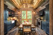 Фото 30 Дизайн кухни в деревенском доме: уютный кантри, теплый шале или утонченный прованс?