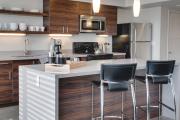 Фото 3 Кухня 13 кв. метров: свежие идеи оформления и дизайнерские варианты