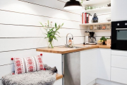 Фото 2 Кухня 13 кв. метров: свежие идеи оформления и дизайнерские варианты