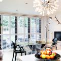 Варианты зонирования и дизайн для кухни-гостиной площадью 15 кв. метров фото