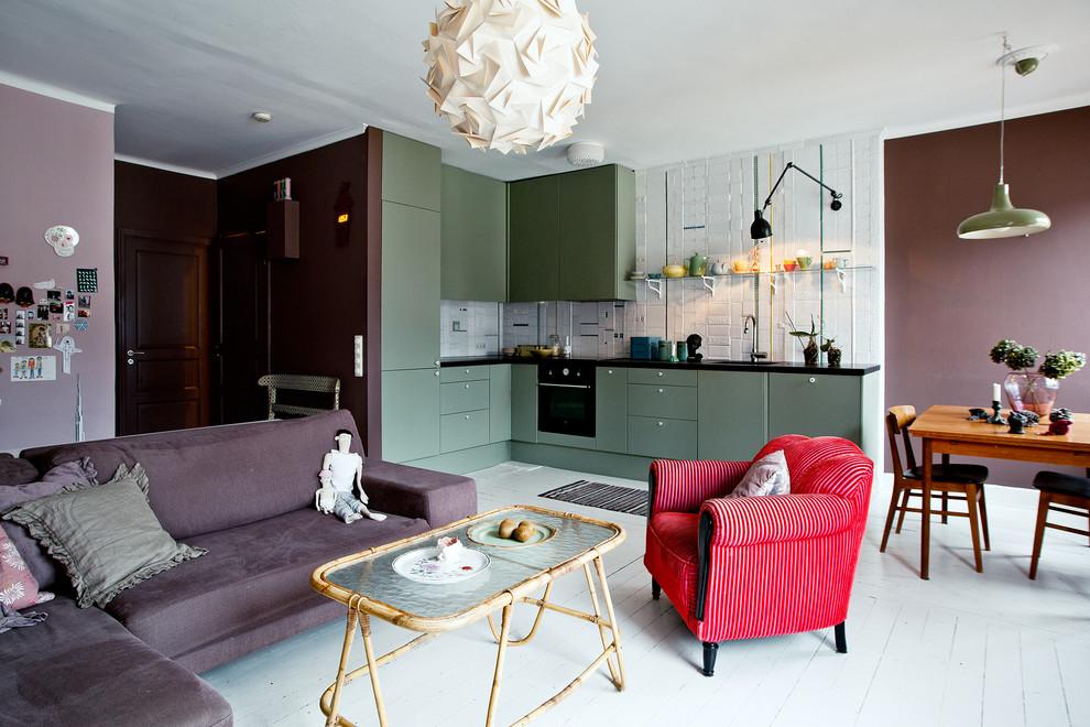 Кухня-гостиная 15 квадратов ✅️Лучшие идеи дизайна