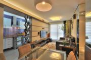 Фото 11 Варианты зонирования и дизайн для кухни-гостиной площадью 15 кв. метров
