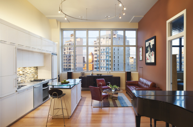 Панорамные окна сделают Вашу комнату на много светлее