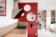 Фото 3 Варианты зонирования и дизайн для кухни-гостиной площадью 15 кв. метров