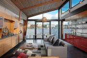 Фото 32 Варианты зонирования и дизайн для кухни-гостиной площадью 15 кв. метров
