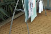 Фото 20 Лиана для сушки белья на балконе: обзор конструкций и варианты установки