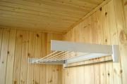 Фото 11 Лиана для сушки белья на балконе: обзор конструкций и варианты установки