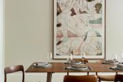 Фото 14 Свет гастрономии: обзор стильных кухонных интерьеров с люстрой над обеденным столом