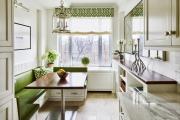 Фото 16 Свет гастрономии: обзор стильных кухонных интерьеров с люстрой над обеденным столом