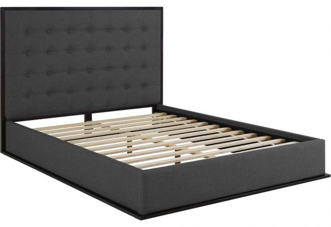 Деревянный каркас для двуспальной кровати
