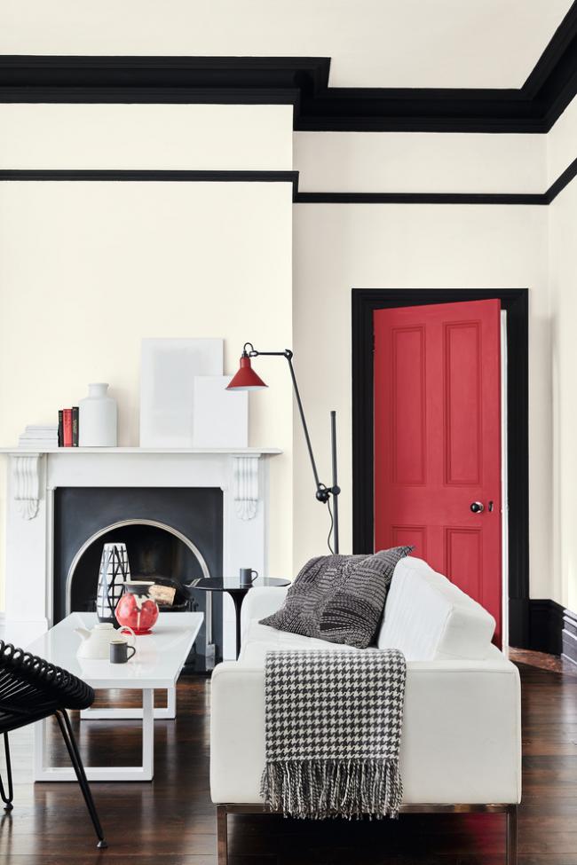 Шикарный интерьер гостиной комнаты в современном стиле