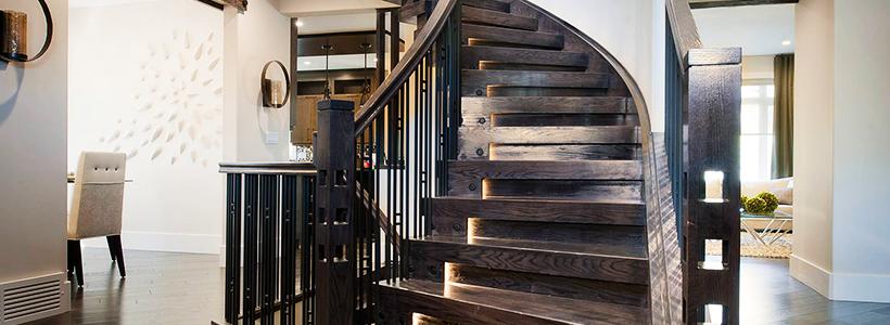 Разновидности систем подсветки лестницы и особенности монтажа