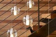 Фото 1 Разновидности систем подсветки лестницы и особенности монтажа