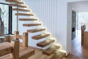 Фото 18 Разновидности систем подсветки лестницы и особенности монтажа
