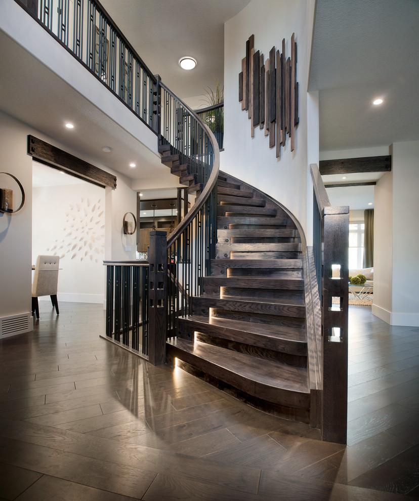 Подсветка лестницы Виды систем, установка и монтаж