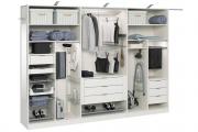 Фото 23 Компактное хранение: выбираем функциональный шкаф для пылесоса и гладильной доски
