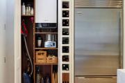 Фото 24 Компактное хранение (75+ идей): выбираем функциональный шкаф для пылесоса и гладильной доски