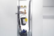 Фото 20 Компактное хранение (75+ идей): выбираем функциональный шкаф для пылесоса и гладильной доски