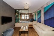 Фото 11 Объединяя пространство: планируем стильный дизайн спальни-гостиной 16 кв. метров