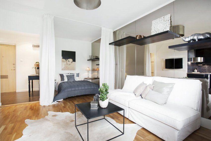 Дизайн спальни-гостиной 16 кв
