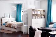Фото 30 Объединяя пространство: планируем стильный дизайн спальни-гостиной 16 кв. метров