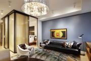 Фото 14 Объединяя пространство: планируем стильный дизайн спальни-гостиной 16 кв. метров