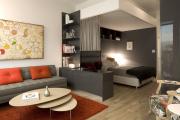 Фото 19 Объединяя пространство: планируем стильный дизайн спальни-гостиной 16 кв. метров