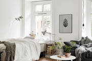 Фото 20 Объединяя пространство: планируем стильный дизайн спальни-гостиной 16 кв. метров