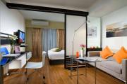Фото 21 Объединяя пространство: планируем стильный дизайн спальни-гостиной 16 кв. метров