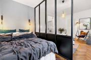 Фото 22 Объединяя пространство: планируем стильный дизайн спальни-гостиной 16 кв. метров