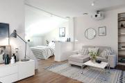 Фото 24 Объединяя пространство: планируем стильный дизайн спальни-гостиной 16 кв. метров