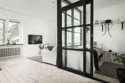 Фото 27 Объединяя пространство: планируем стильный дизайн спальни-гостиной 16 кв. метров