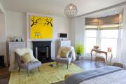 Фото 5 Объединяя пространство: планируем стильный дизайн спальни-гостиной 16 кв. метров