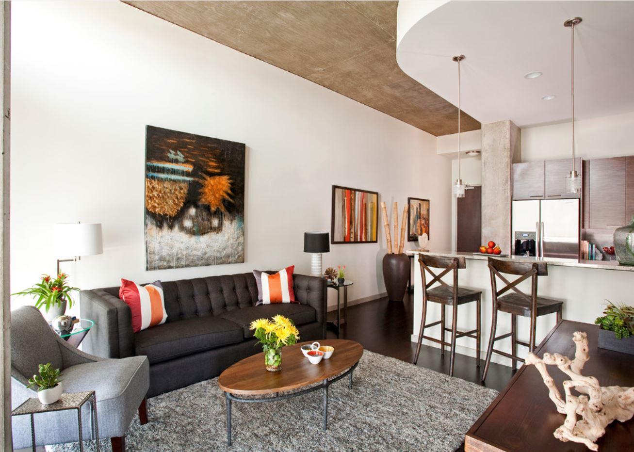 Дизайн маленькой квартиры в астане