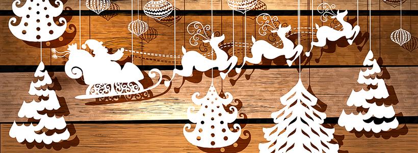 Трафареты на Новый год: варианты праздничного декора и лучшие идеи своими руками