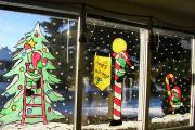 Фото 8 Трафареты на Новый год: варианты праздничного декора и лучшие идеи своими руками