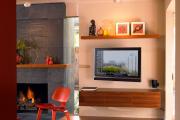 Фото 11 Тумба под телевизор в современном стиле: обзор вариантов и материалов