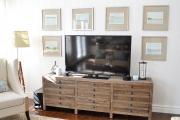 Фото 8 Тумба под телевизор в современном стиле: обзор вариантов и материалов