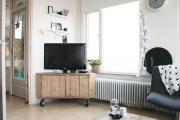 Фото 18 Тумба под телевизор в современном стиле: обзор вариантов и материалов