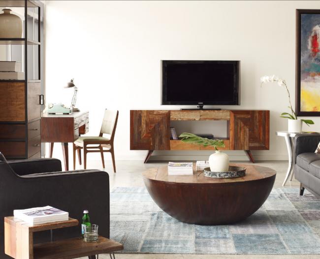 Необычные дизайнерские предметы мебели в стиле ретро 60-х