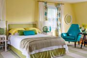 Фото 5 Интерьер бело-зеленой спальни: секреты гармоничных сочетаний и выбор декора