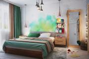 Фото 7 Интерьер бело-зеленой спальни: секреты гармоничных сочетаний и выбор декора