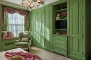 Фото 8 Интерьер бело-зеленой спальни: секреты гармоничных сочетаний и выбор декора