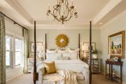 Фото 9 Интерьер бело-зеленой спальни: секреты гармоничных сочетаний и выбор декора